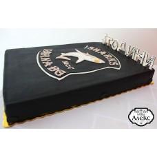 Торта в черно