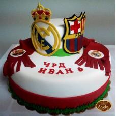 Торта Барселона и Реал