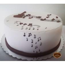 Музикална торта